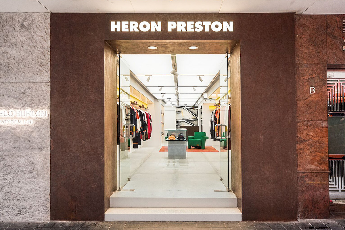 Take A Look Inside Heron Preston's First-Ever Flagship Store