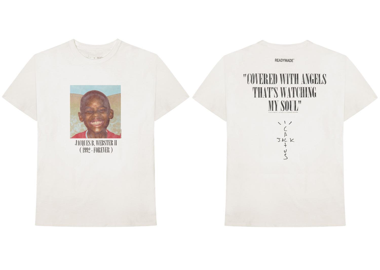Travis Scott Releases  CACTUS JACK x READYMADE T-Shirt