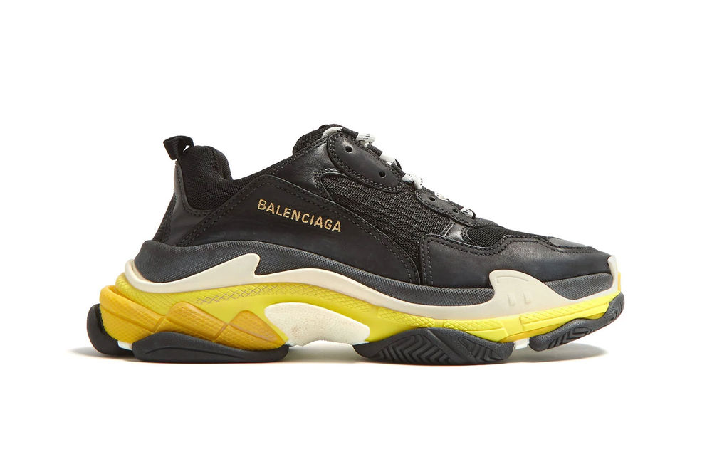 "PAUSE or SKIP: Balenciaga Triple S ""Black/Yellow"""
