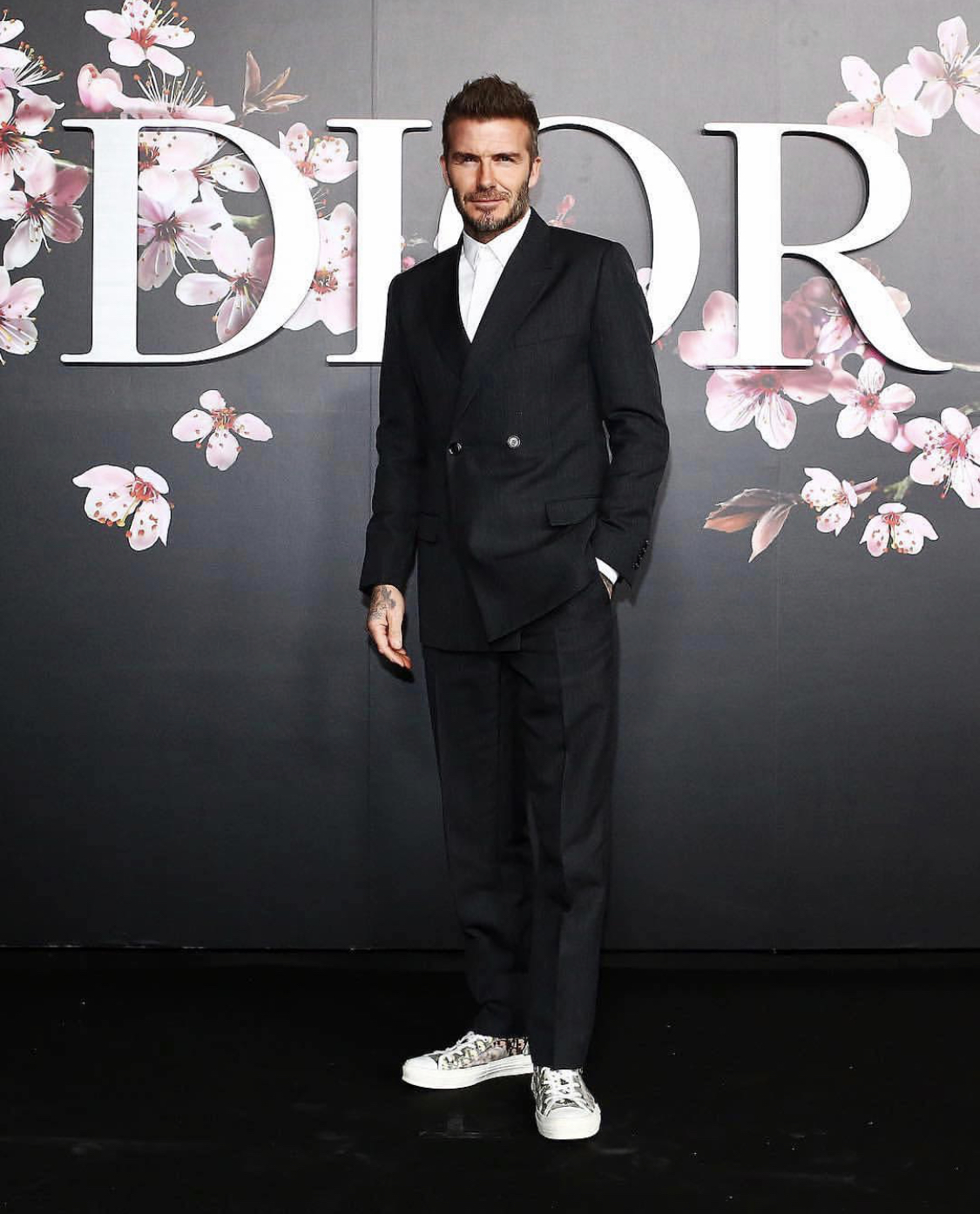 SPOTTED: David Beckham At Dior Pre-Fall 2019 Show in Tokyo