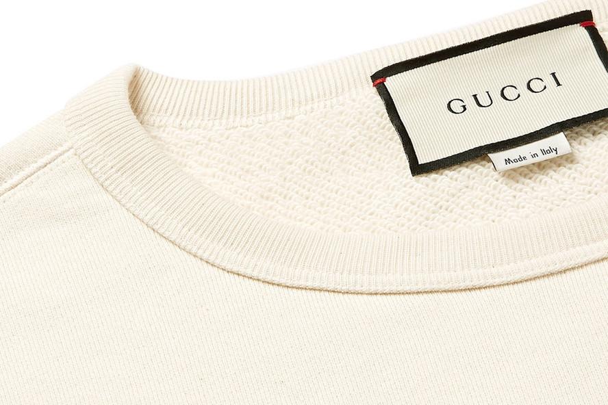 Gucci Drops New Chateau Marmont Sweatshirt