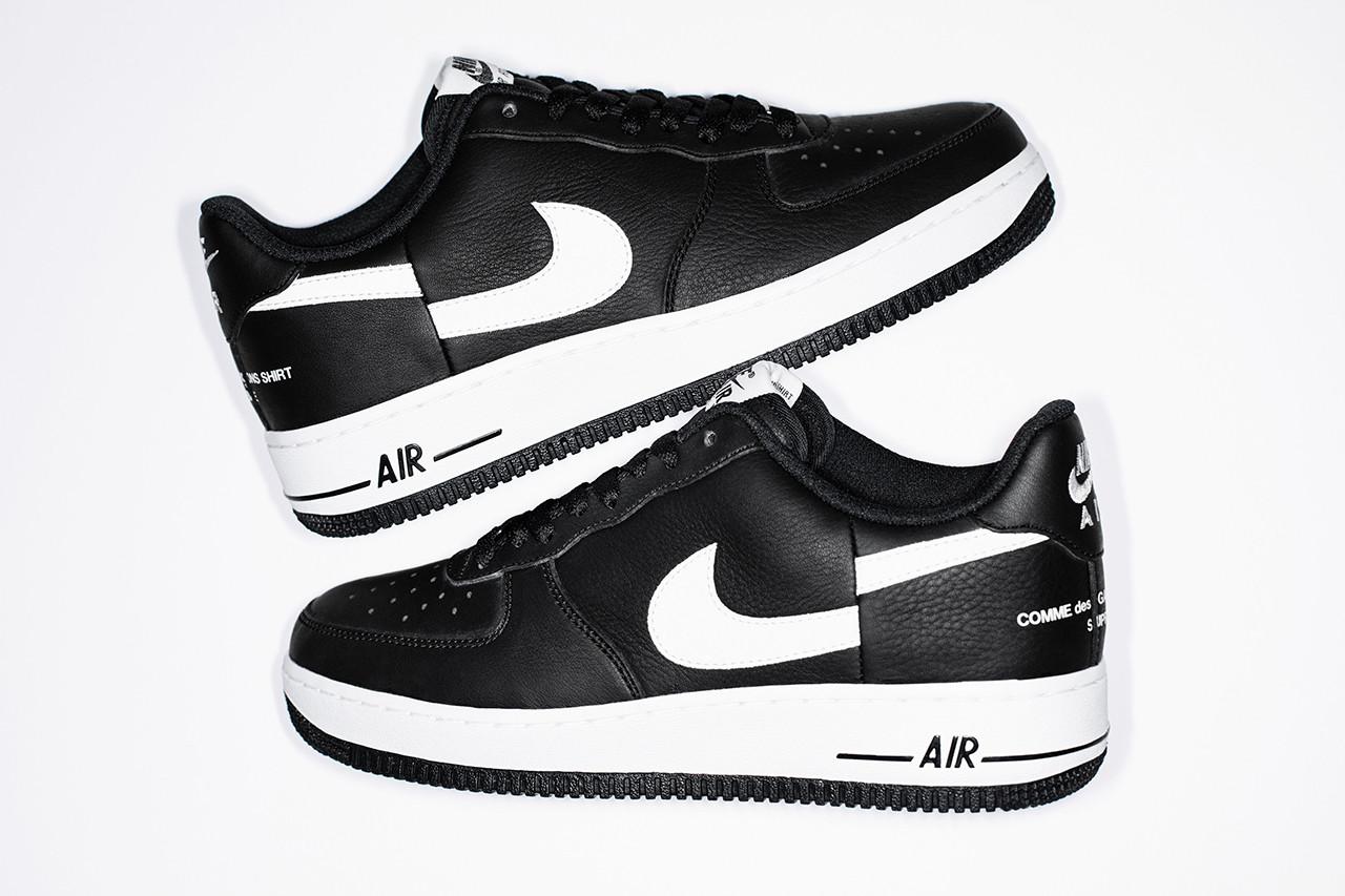 Release Info Regarding Supreme and COMME des GARÇONS Shirt's Nike AF1 is Here