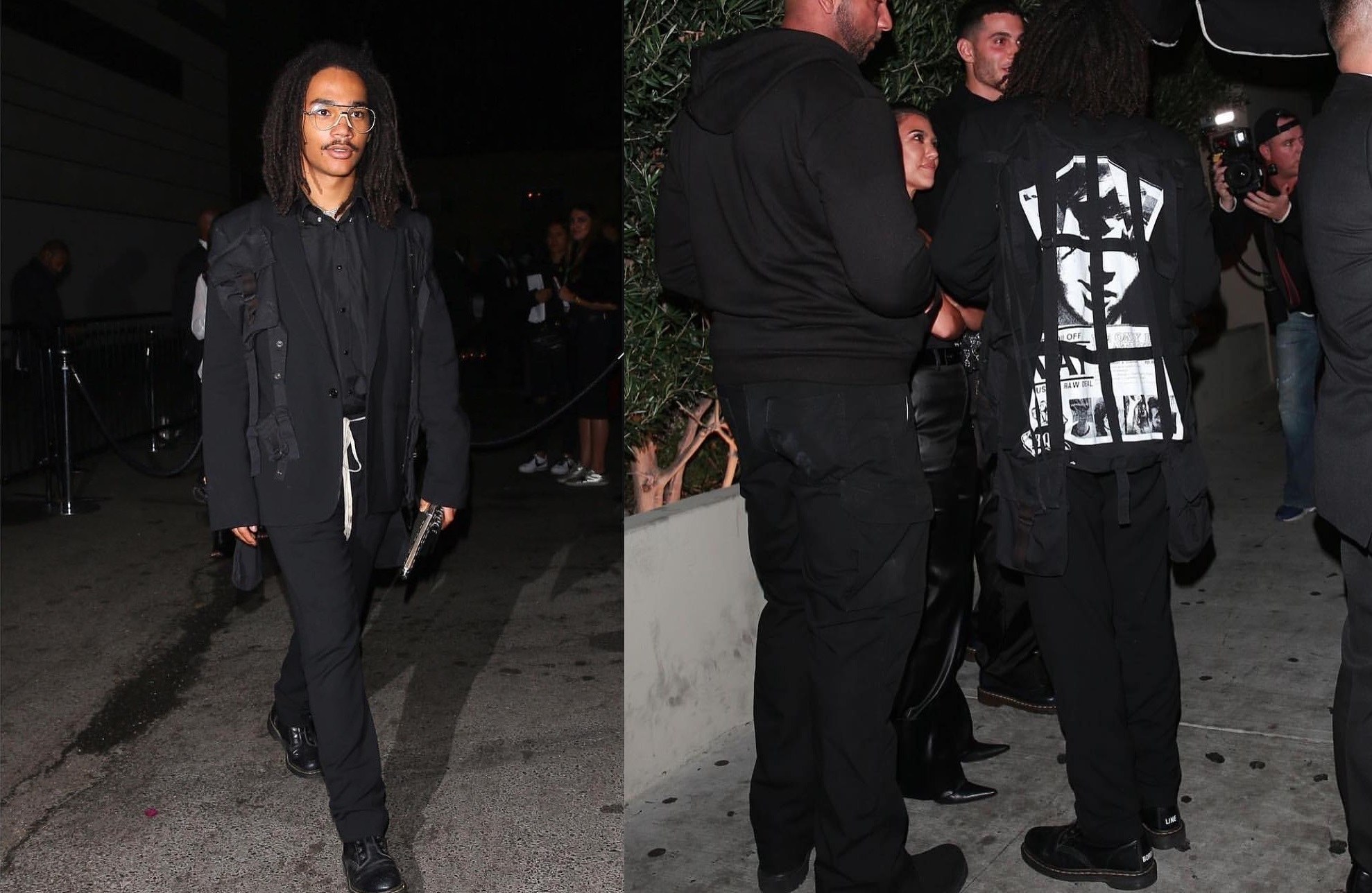 SPOTTED: Luka Sabbat Turns Up to Diddy's Birthday Party in Old-School Raf Simons