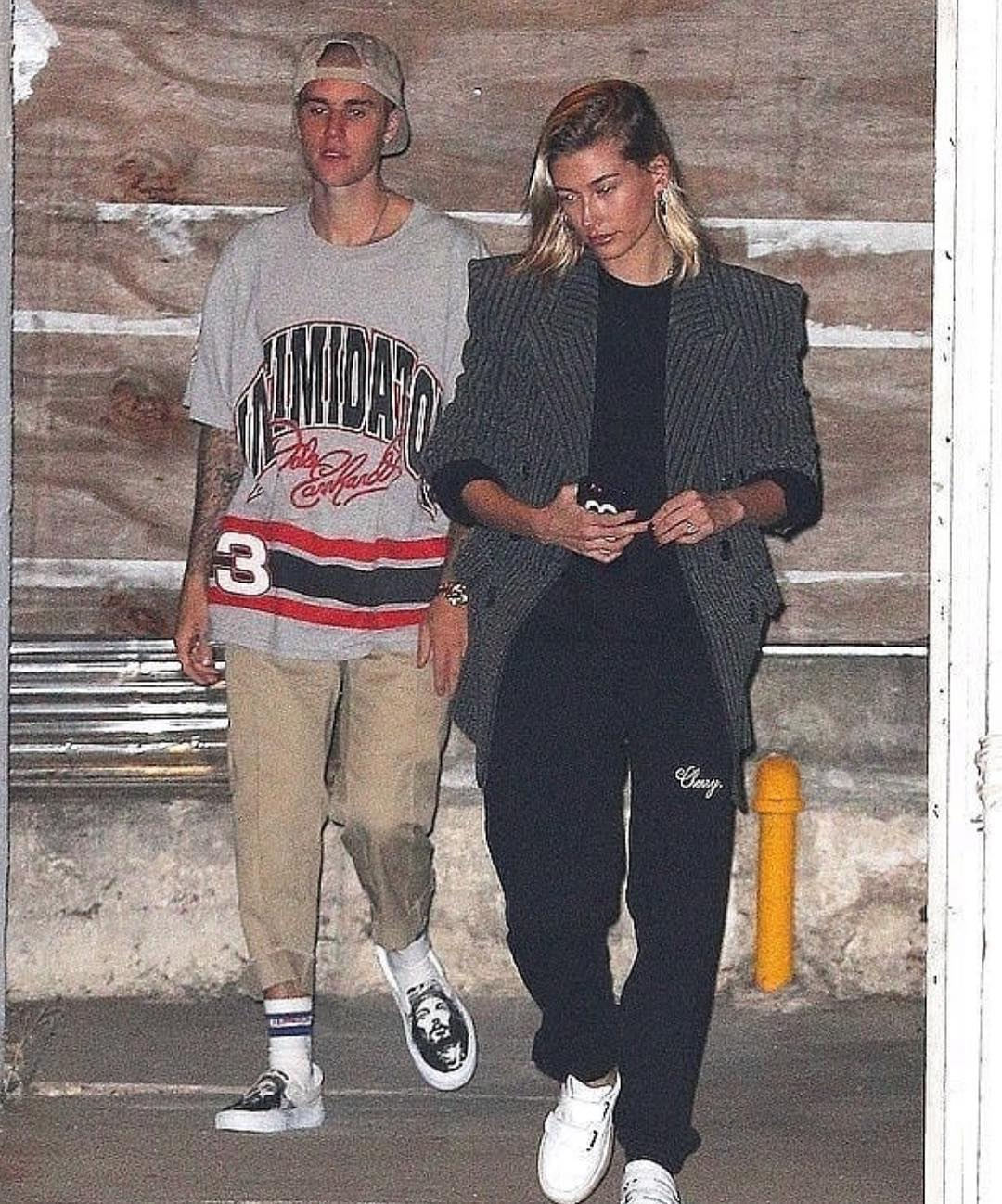 SPOTTED: Justin Bieber and Hailey Baldwin at the Saban Theater in Los Angeles