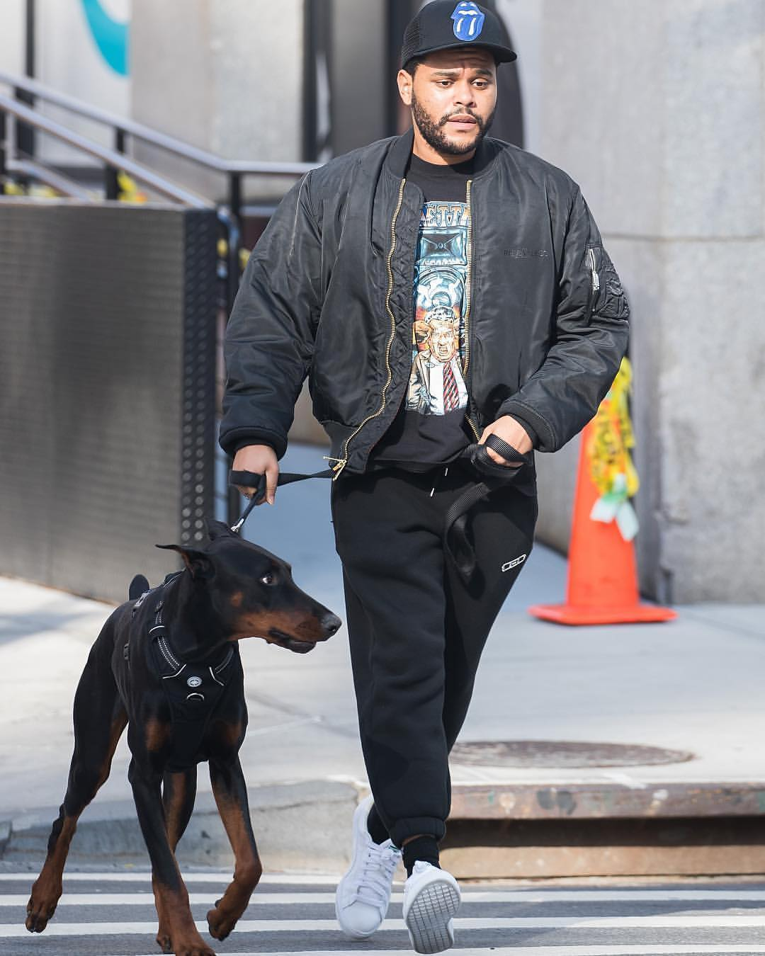SPOTTED: The Weeknd Wears Puma in New York City
