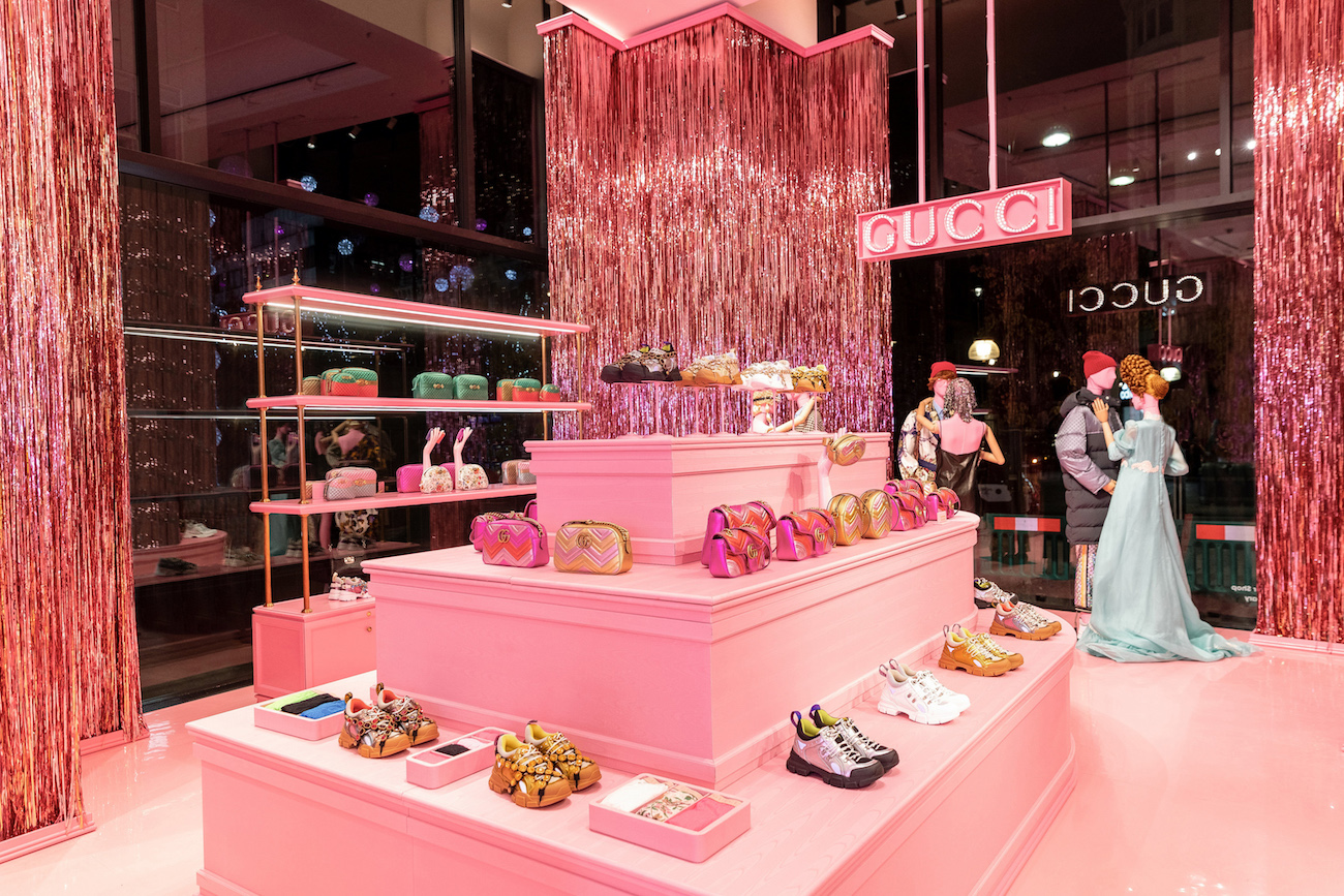 Gucci Takes Over the Selfridges Corner Shop