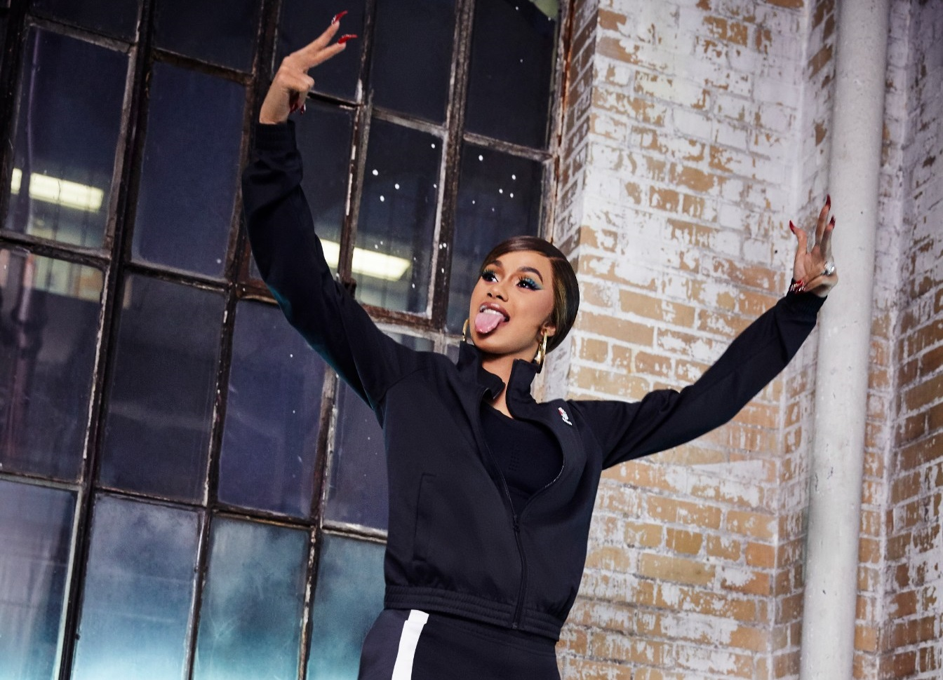 Cardi B has Officially Partnered with Reebok