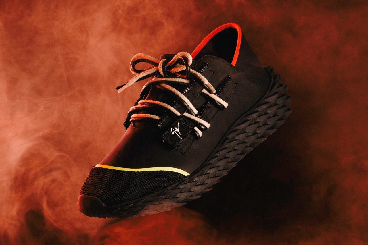 Giueseppe Zanotti Drops Futuristic Unisex Sneaker