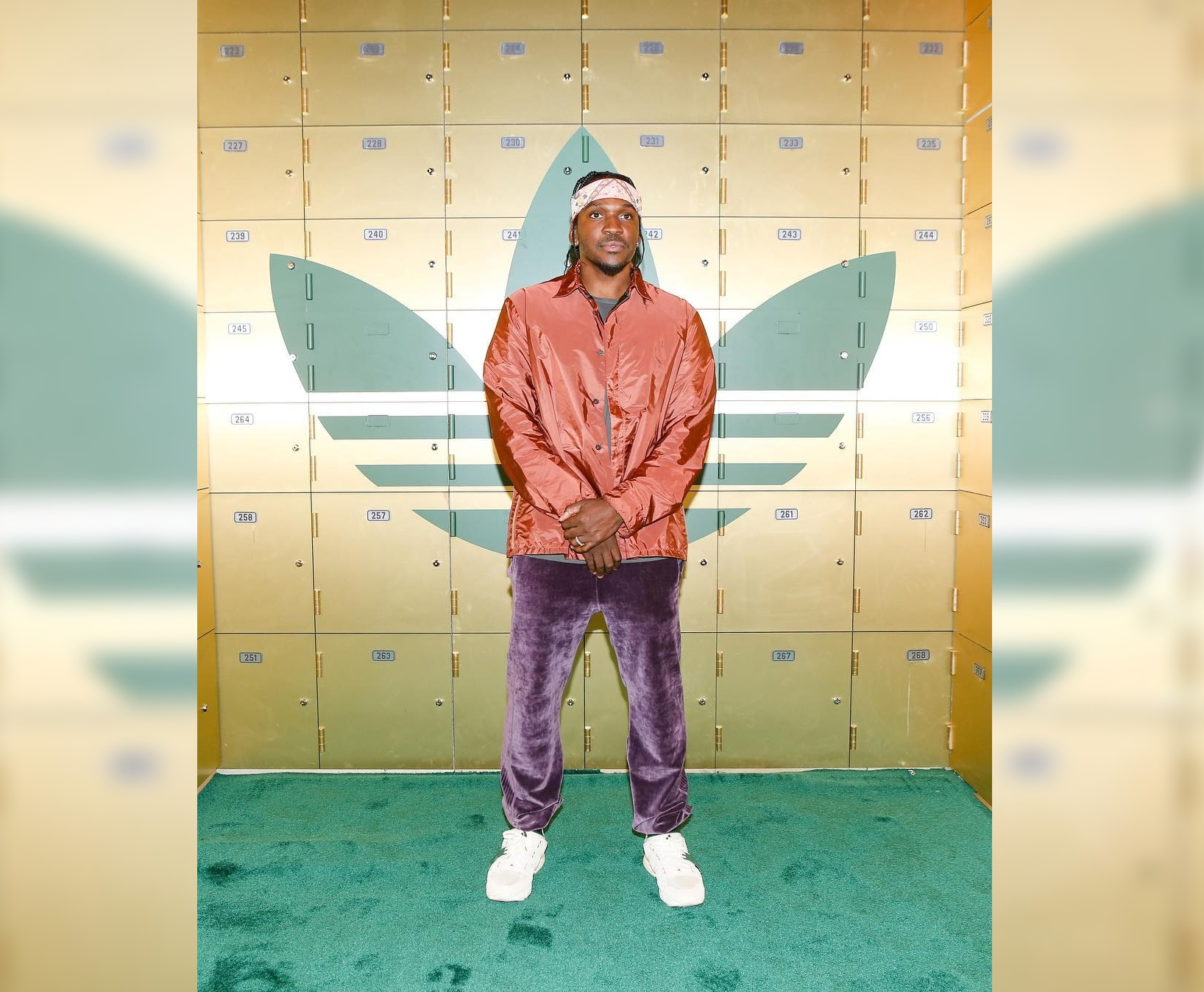 SPOTTED: Pusha T Sports Prada, REMI RELIEF and his Own Collaborative adidas Sneakers