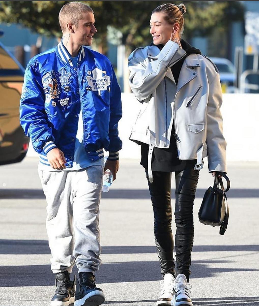 SPOTTED: Justin Bieber and Hailey Baldwin Layer Up in L.A.