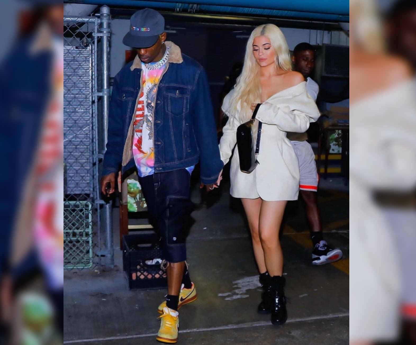 SPOTTED: Travis Scott and Kylie Jenner Go Bold in Miami