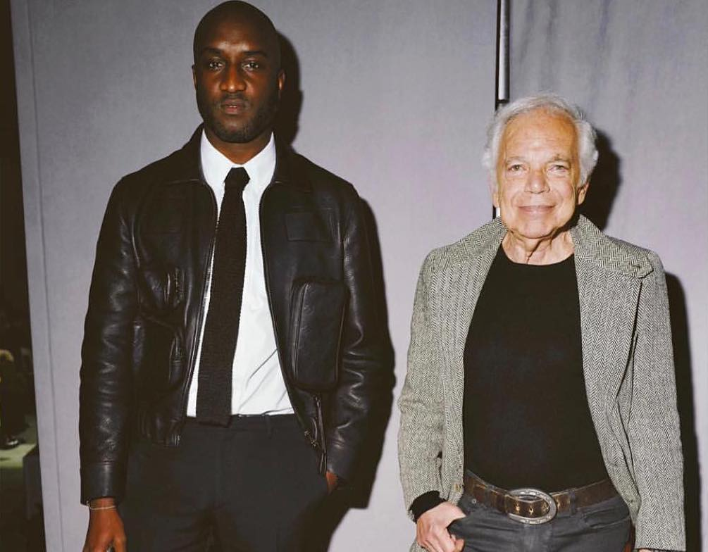 SPOTTED: Virgil Abloh & Ralph Lauren in LV Mens 2019 & Air Jordan