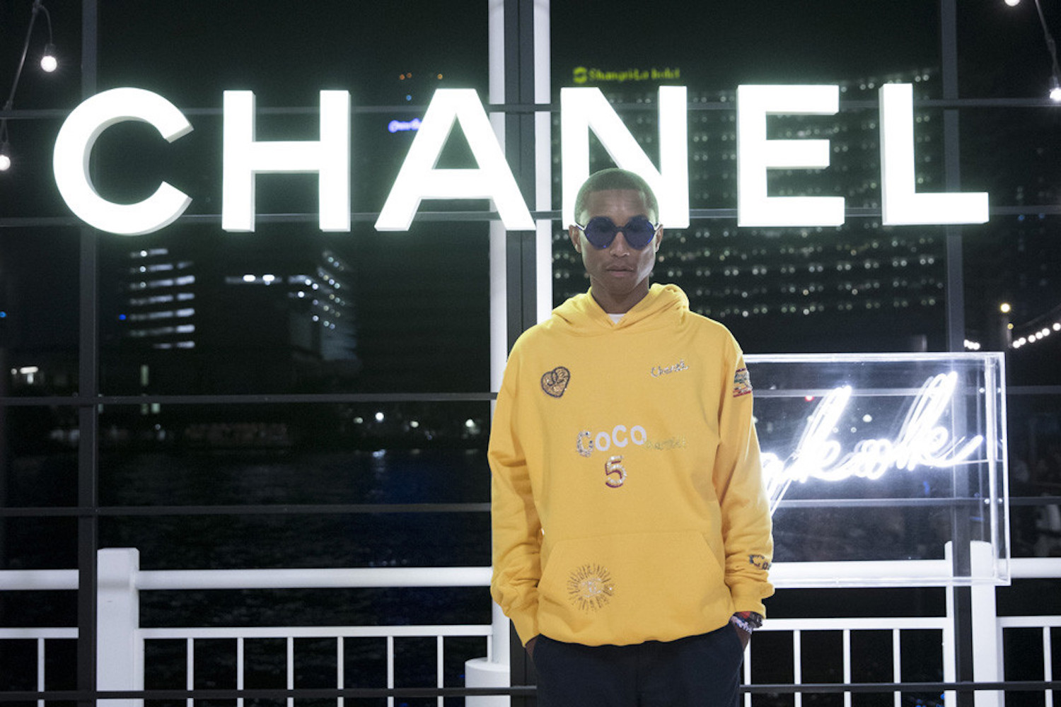 Pharrell Williams Announces Collaboration with Chanel