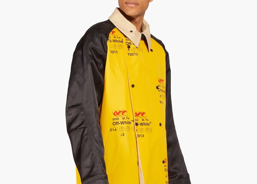 PAUSE or Skip: Off-White Logo Trench Coat