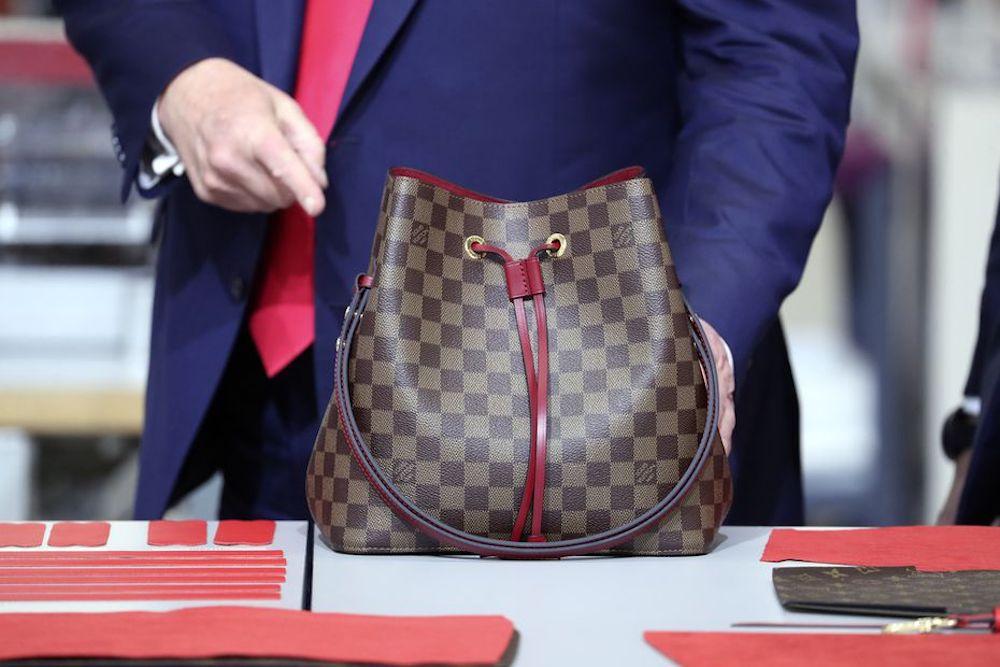 Donal Trump Opens New Louis Vuitton Workshop in Texas