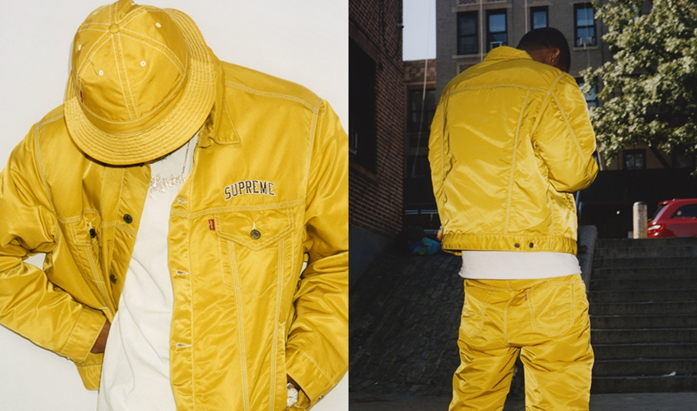 Supreme Taps Levi's For Autumn/Winter 2019 Collection