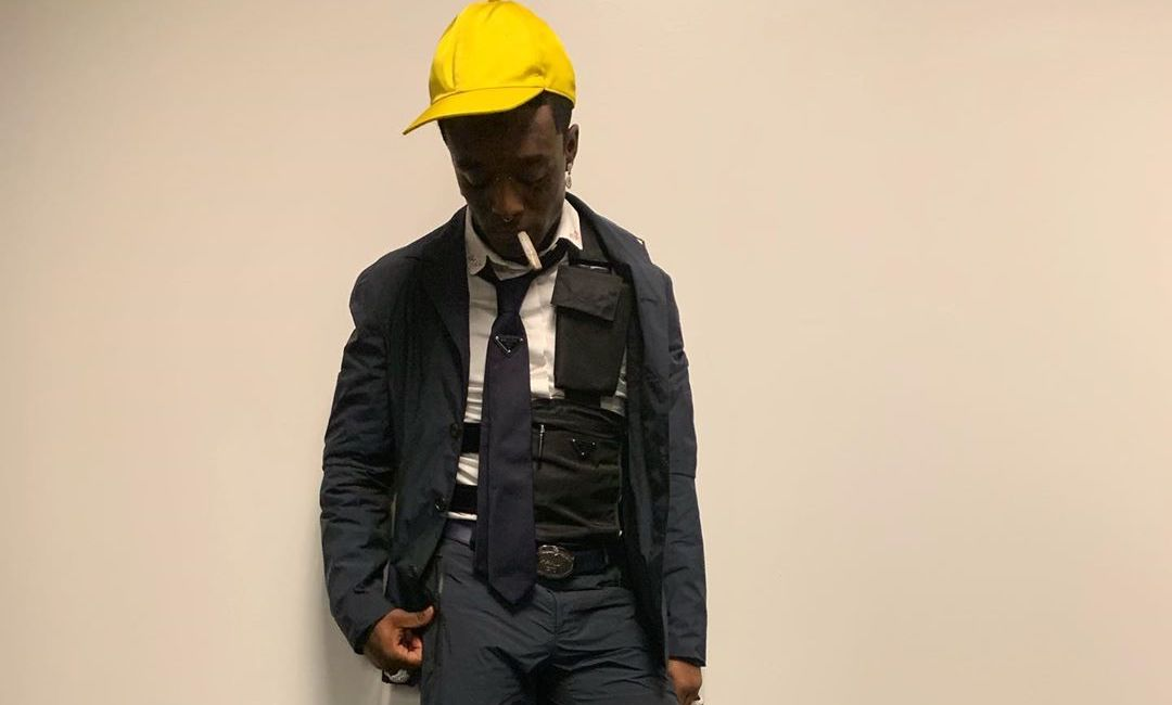 SPOTTED: Lil Uzi Vert Flexes Nylon Prada Suit