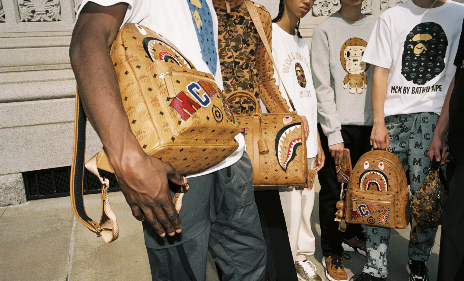 BAPE & MCM Join Forces For Co-Branded AW19 Capsule Collection