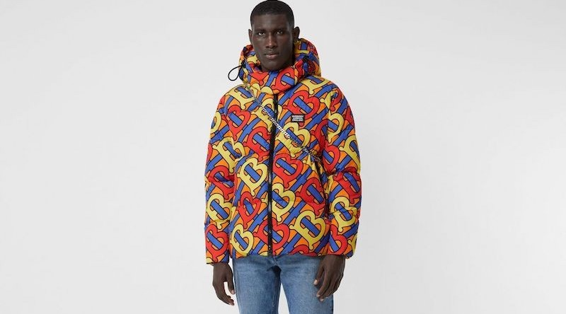 Take A Look At Burberry's Monogrammed Puffer Collection