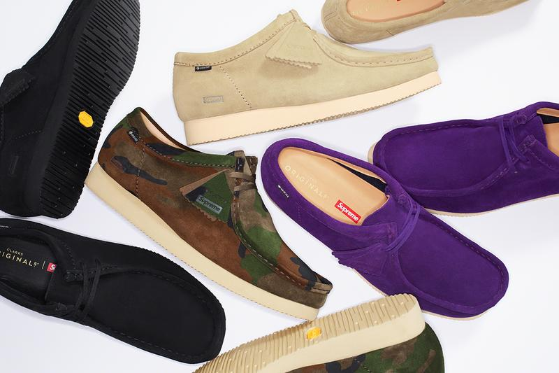 Supreme & Clarks Originals Drop New Wallabee Collection