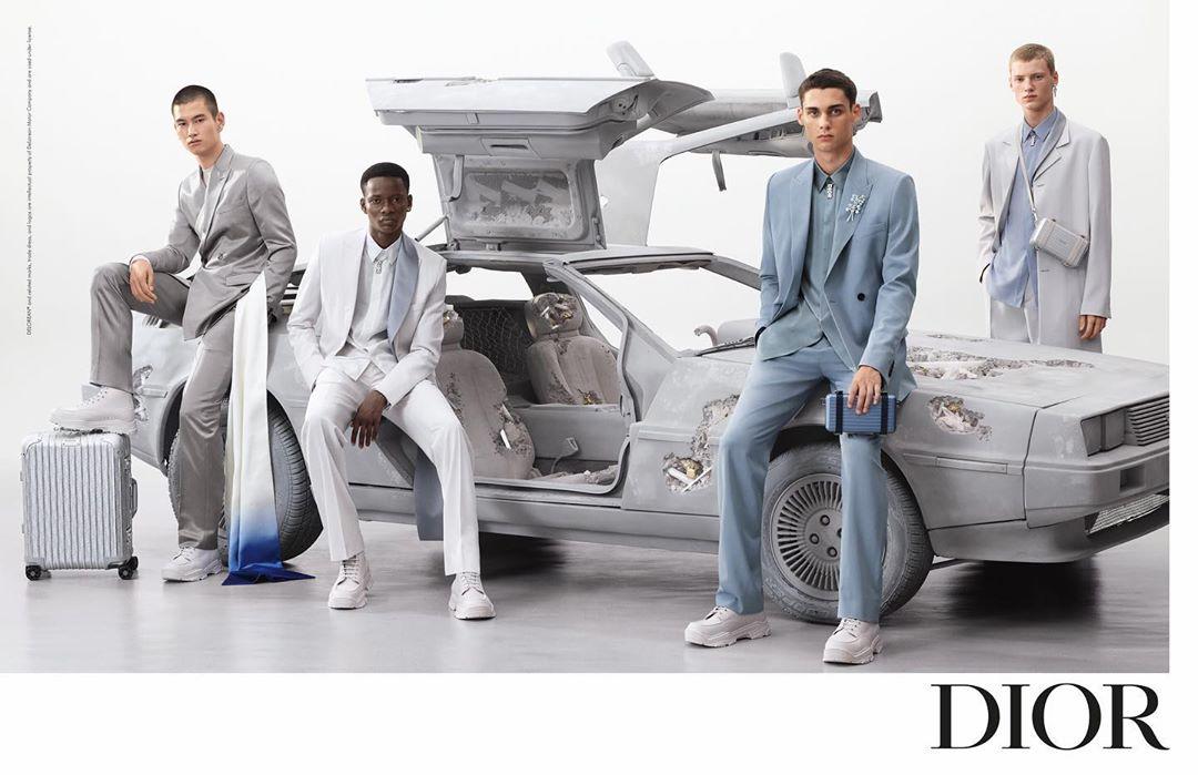 Kim Jones Teases Dior Mens Summer Campaign via Instagram
