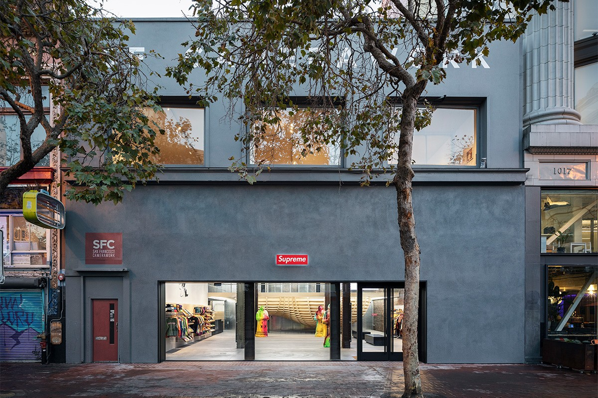A Look Inside Supreme's New San Francisco Location