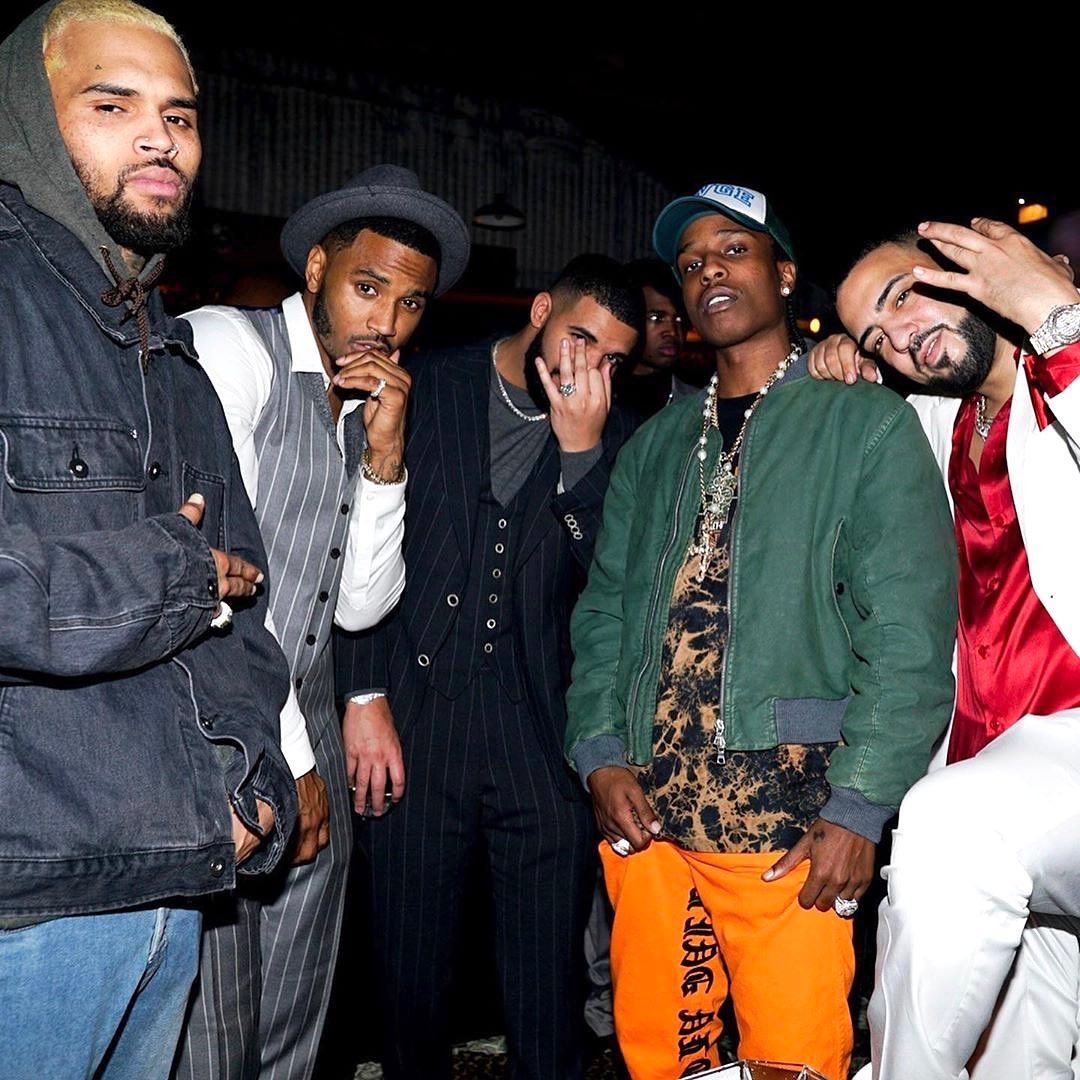 SPOTTED: Drake Celebrates Birthday with ASAP Rocky, French Montana & more