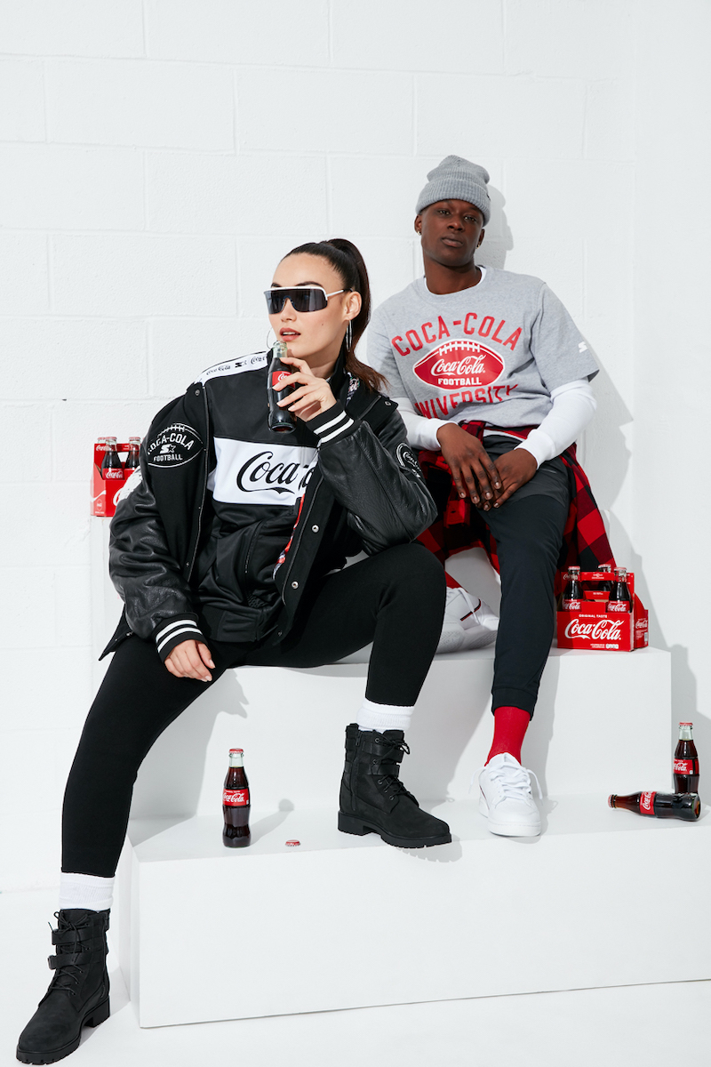 Starter Black Label & Coca Cola's Collab Drops Online Today