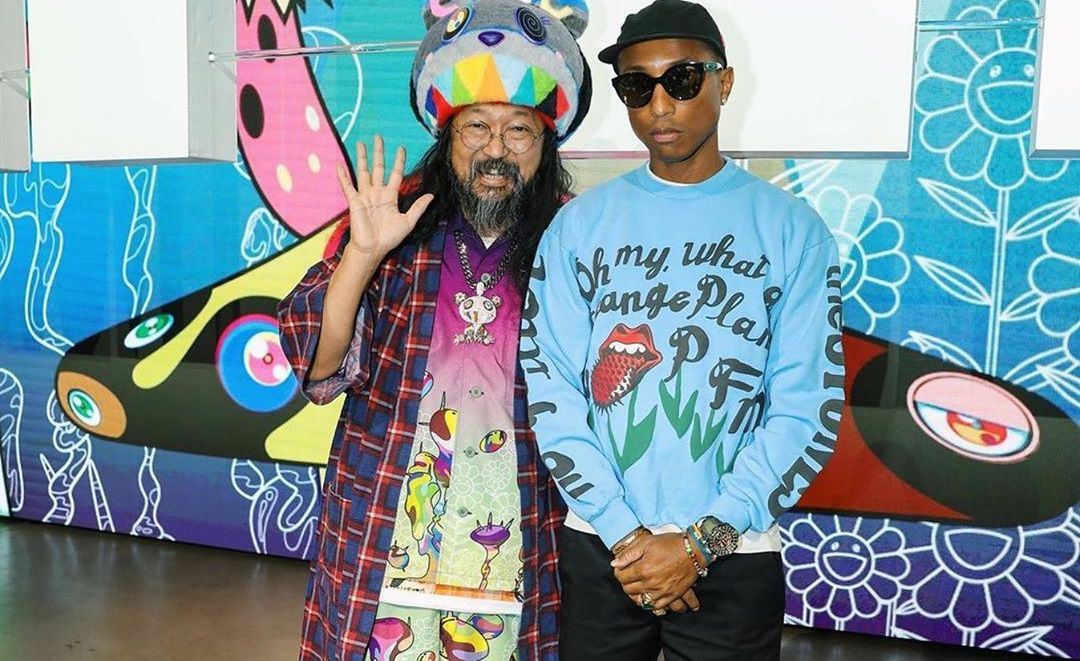SPOTTED: Pharrell Williams & Takashi Murakami Attend Complex Con
