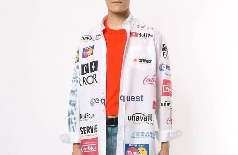 PAUSE or Skip: Vetements Multicolored Logo Shirt