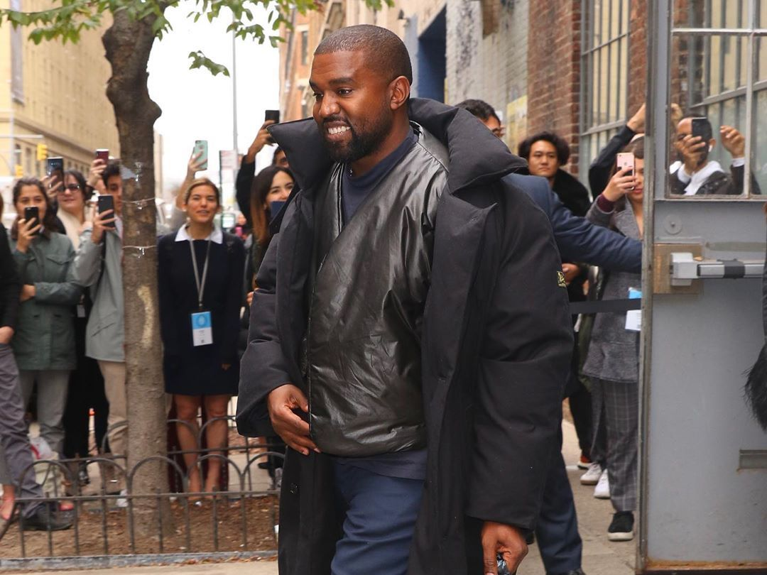 SPOTTED: Kanye West Out in NYC in Raf Simons & Yeezy