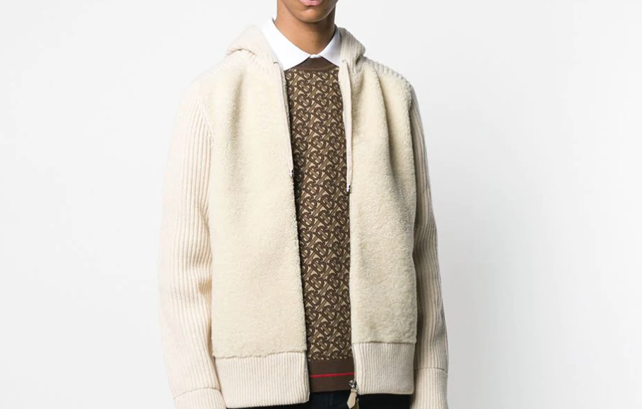 PAUSE or Skip: Burberry All-Over Monogram Jumper