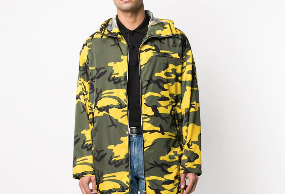 PAUSE or Skip: Prada Camo Print Jacket