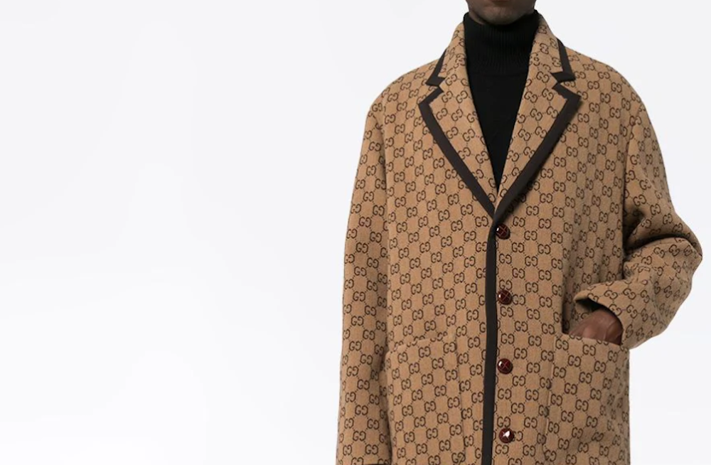 PAUSE or Skip: Gucci GG Supreme Pattern Coat