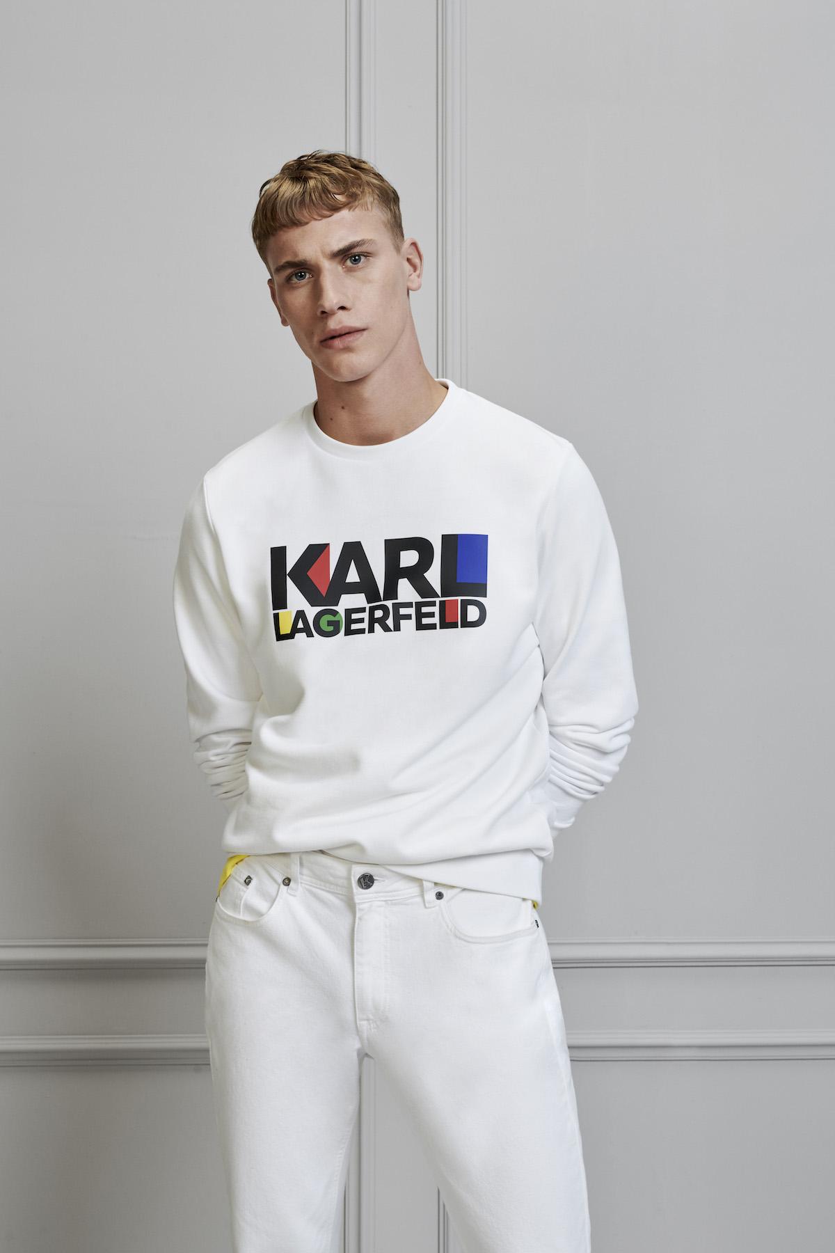 Karl Lagerfeld Unveils Spring/Summer 2020 Menswear Lookbook