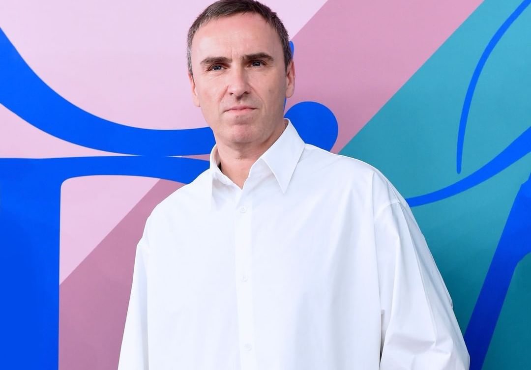 Raf Simons Does First Interview Since Leaving Calvin Klein