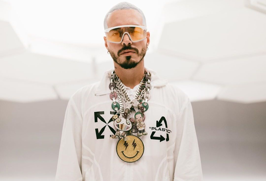 SPOTTED: J Balvin In Off-White™ Jumpsuit