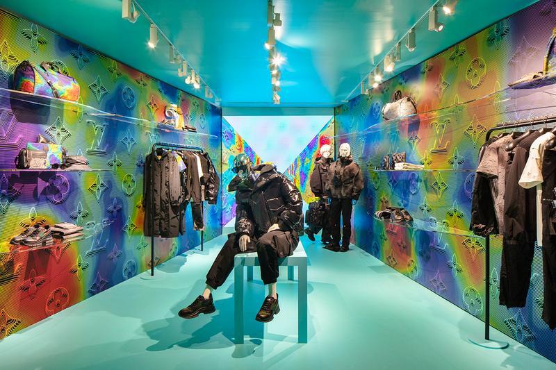 Louis Vuitton Unveils Latest Pop-Up Residency