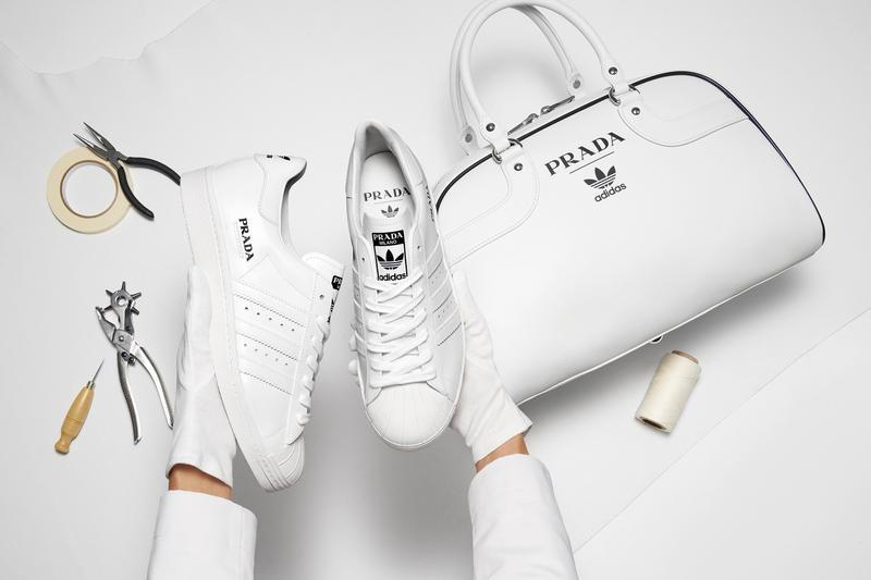 Prada & adidas Officially Debut Superstar & Bowling Bag Collaboration