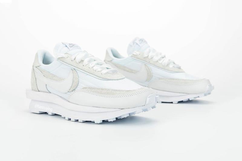 A Closer Look At The Look At The White Sacai x Nike LDWaffle