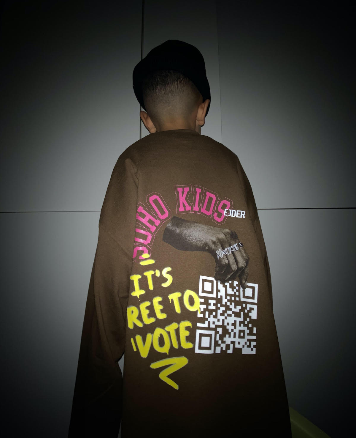 EJDER X SOHO KIDS Are Giving Out Free T-Shirts to Convince You to Vote