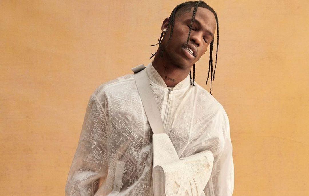 SPOTTED: Travis Scott In Dior Mens For Haper's Bazaar