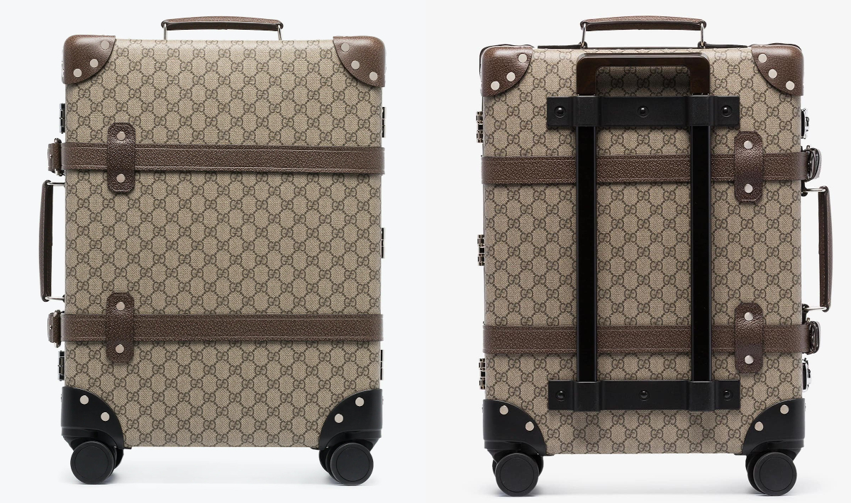 PAUSE or Skip: Gucci's Brown Globetrotter Suitcase