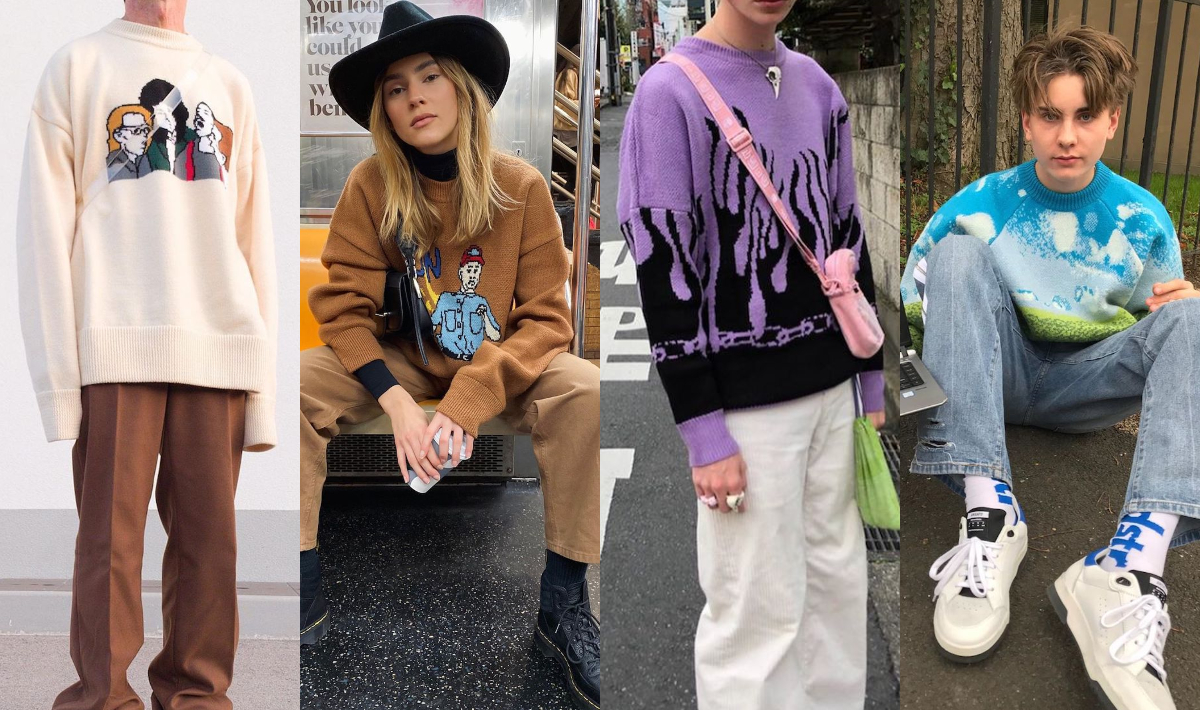 PAUSE Highlights: 6 Ways to Jump on the Graphic Knitwear Trend