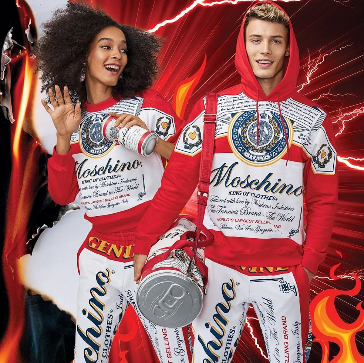 Moschino Release Budweiser Themed AW19′ Capsule