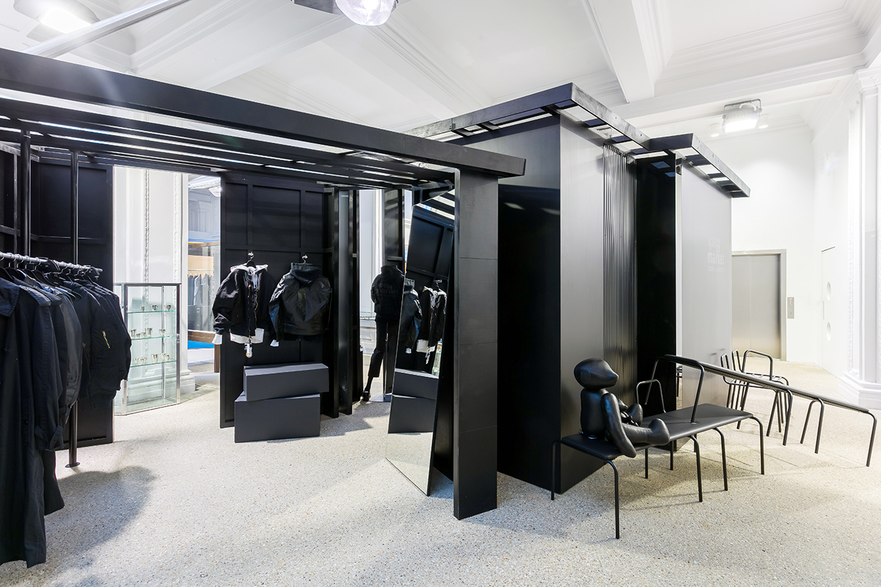 """COMME des GARÇONS Launches """"CDG Black Market"""" at Dover Street Market London"""