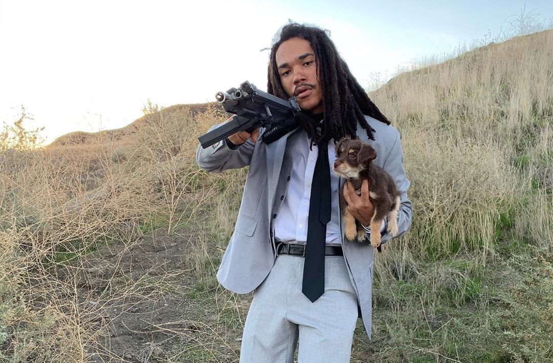 """SPOTTED: Luka Sabbat Shares Suited & Booted """"Secret Project"""" Shots"""