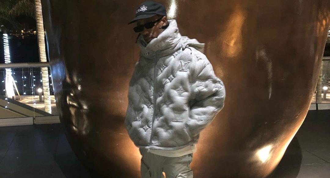 SPOTTED: Travis Scott Debuts Dior Homme x Air Jordan 1 Sneaker