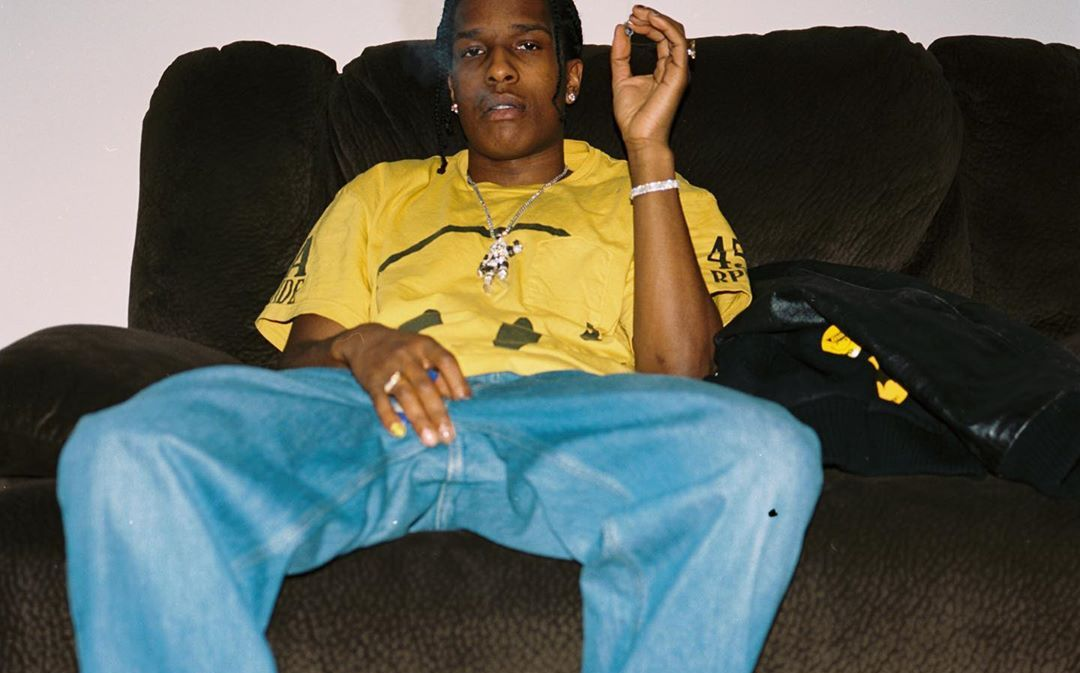 SPOTTED: A$AP Rocky Dons Chinatown Market Tee & Under Armou x Rocky SRLo
