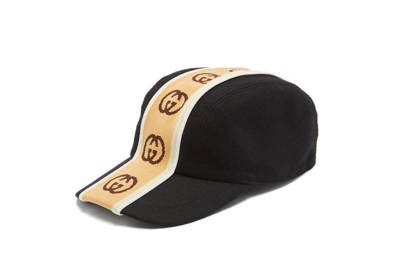"PAUSE or Skip: Gucci's ""GG"" Stripe Headwear"